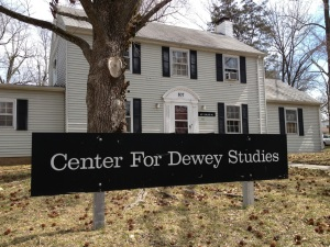 The Center for Dewey Studies when I visited